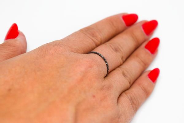 anel fio torcido