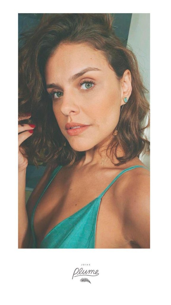 A atriz Paloma Bernardi não resistiu ao encanto das nossas joias