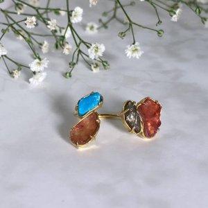 anel-mix-turmalina-melancia-pirita-turquesa-plume-acessórios